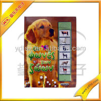 Talking book with funny pictures, used for children's pre-school education