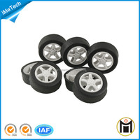 Different sizes rubber wheel for toys stroller solid rubber wheels