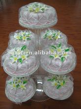 7 tiers Acrylic Round shape Make Wedding Cake Stand