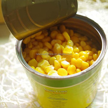 Canned sweet peas non gmo yellow corn