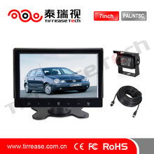 Vehicle Super 7 inch TFT/Digital car LCD monitor with hdmi input/touch screen