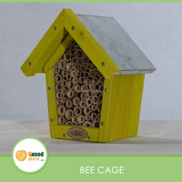 Small wooden bee pet house