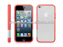 bumper hot sell Hard-shell case for iphone5c