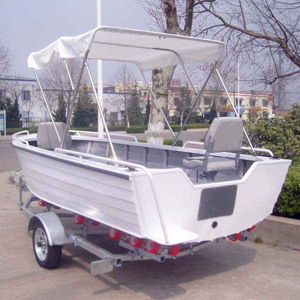 2014 design 14ft fishing boat small aluminum boat for sale for Garden design troller boat