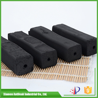 high quality square bamboo sawdust charcoal briquettes