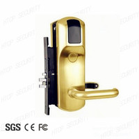 Electronic RFID card Hotel Door Lock with Hotel Management Software System