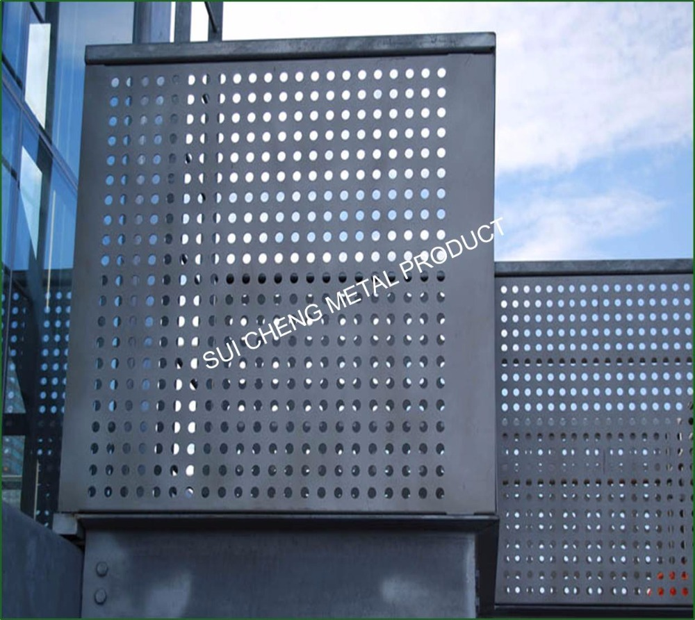 Factory Price Powder Coating Stainless Steel Kitchen: Powder Coating Perforated Metal Mesh / Stainless Steel