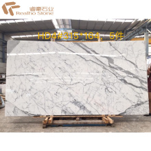 High Quality White Marble Statuario Marmer for Lobby and Wall