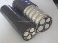 cu or aluminum xlpe swa pvc underground high voltage cables