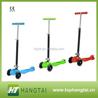 foldable 3 wheels kick scooter plastic body parts for kids