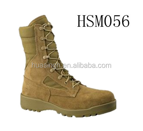government required performance approved Belleville/Wellco series coyote military army boots