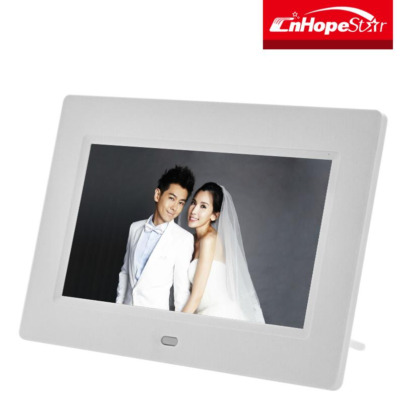 "Full hd digital picture frame 7""/ 7 inch digital photo album viewer"