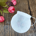 china wholesale round shape paper filter tea bag