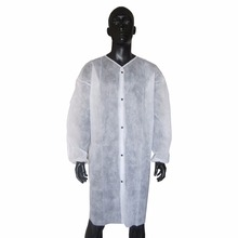 Factory price with Disposable SMS/SBPP Lab Coat