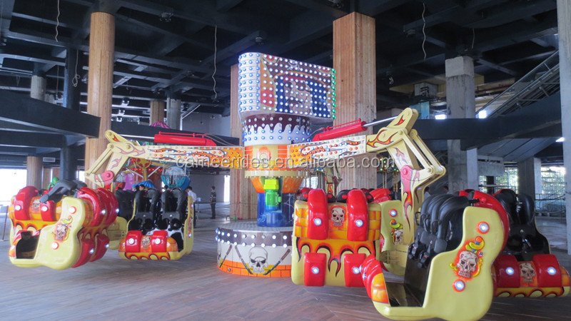 China Amusement Rides Top Supplier 380V Thrilling Equipment Outdoor Fairground Rides for sale