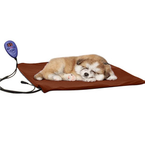 Popular Comfortable Warm 12V 40X30 cm Pet Electric Heating Pads for Dogs and Cats