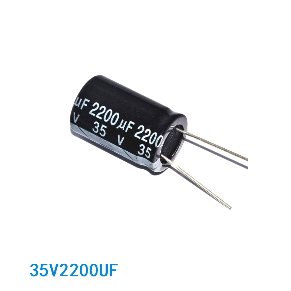 Trade assurance massive electrolytic capacitors 2200uf 35v with ribbon
