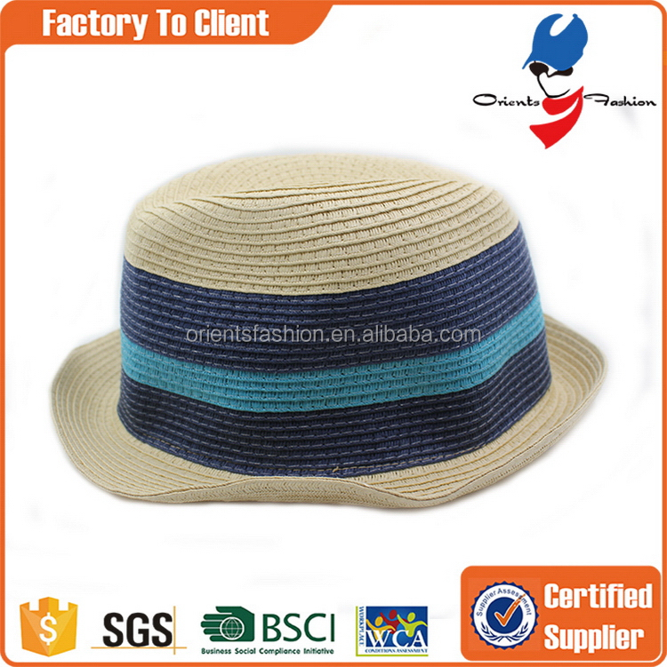Low price classical drinking paper straw hat