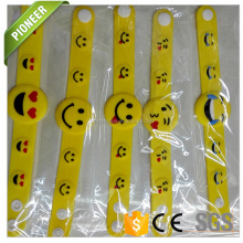 Chinese goods wholesales fiber optic light up silicon bracelet best selling products in nigeria