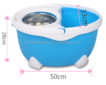 2017 best selling 360 spin floor cleaning mop bucket