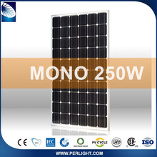 Quality-Assured Cheap Newest Complete Set 250W Monocrystalline Solar Module