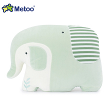 Best quality Metoo Brand cartoon elephant soft plush pillow car cushion