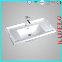 Poreclain Cabinet Basin with Modern Vanity Bathroom