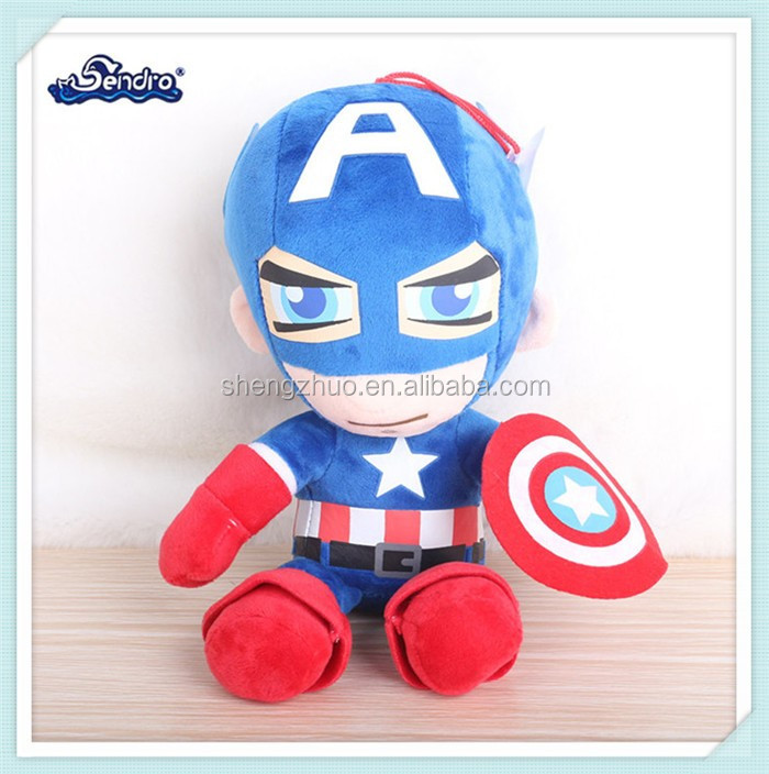 2017 new design america moive plush cartoon toy for kids doll