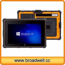 High Quality IP65 8 inch Inter Z3735F CPU IPS Screen Windows 10 Fingerprint Barcode Scanner Rugged Tablet With 4G 3G NFC GPS