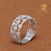 Factory supplier women fashion jewelry finger ring