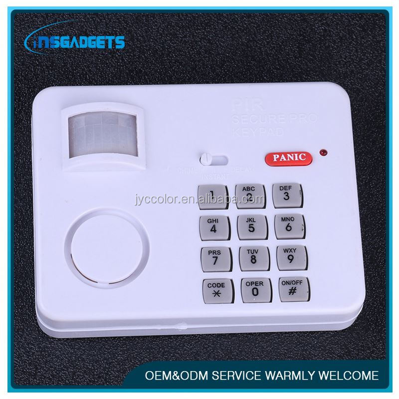 gsm pet friendly wireless home security system human motion sensor alarm , pir detector motion