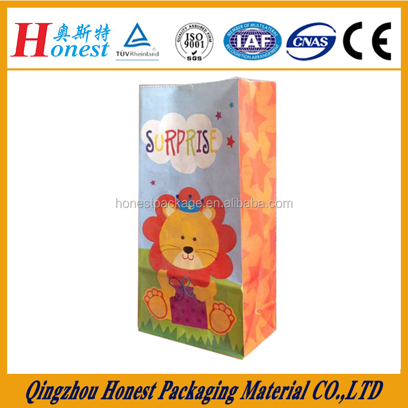 Accept Custom Printed Gift Paper Bag
