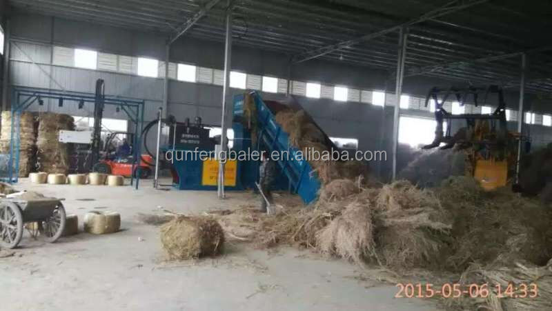 Hydraulic automatic hay grass and straw baler compress machine professional manufacturer
