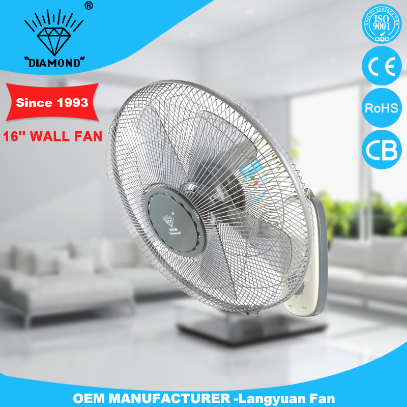 Professional 16inch best fan wall with low noise