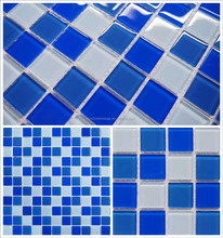 Glass mosaic tile swimming pool art, swimming pool tile