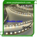 UL listed CRI 90+ very warm white 2400 Kelvin to daylight white 6500 Kelvin IP67 waterproof White adjustable LED strip lighting