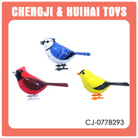 Battery operated baby small chirping plastic toy birds