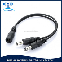 Factory Price Dc 24V 5.5*2.5mm Dc Power Plug Splitter Cable