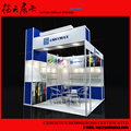 3x3m Cube Blue New Shanghai Exhibition Booth Design and Building