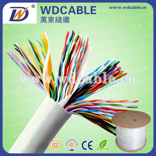 Multi Core Cable Telephone Spring Cord