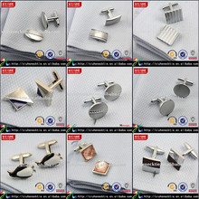 China cheap cufflinks wedding 925 silver jewelry cufflinks replica blank cufflinks