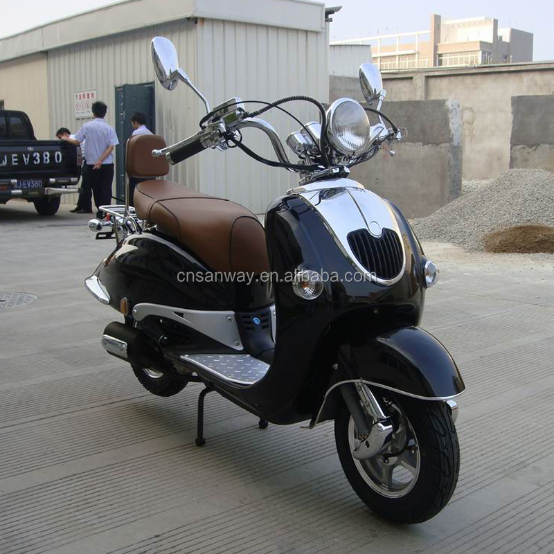 Adult chinese powerful 50CC gas scooter (Scooter 50QT-15A)