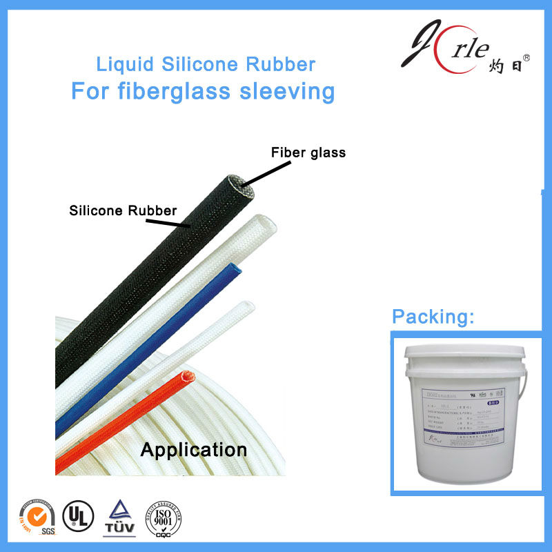 Professional red liquid silicon rubber for fiberglass sleeving