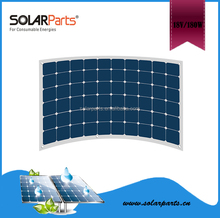 Wholesale High Efficiency 22% Mono Sunpower Semi Flexible Solar Panel 100W 150W 180W