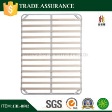 Speaker military metal bed frame with twin row slats