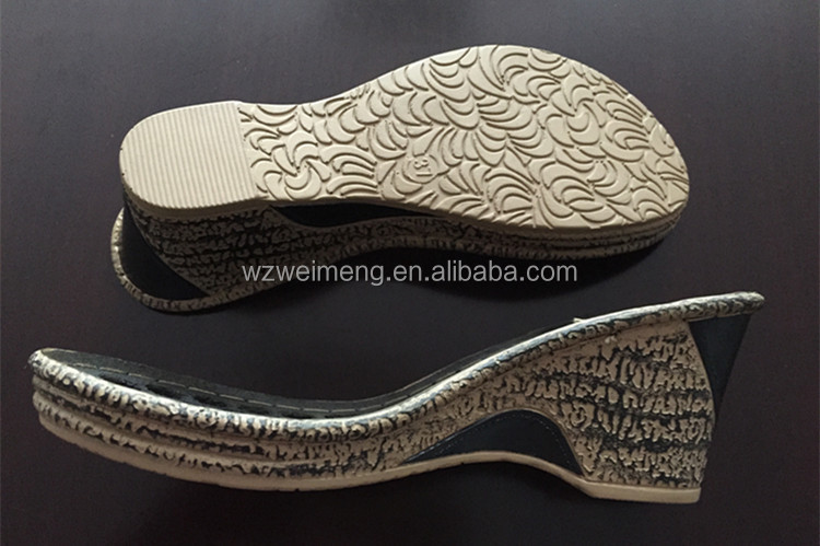 Ladies sandals PU sole design