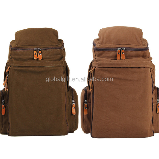 Alibaba China Bags for Men Bag Women Hiking Backpack Travel Canvas Backpack School Bag