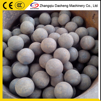 Manganese Alloy Forged Grinding Steel Ball For Ball Mill