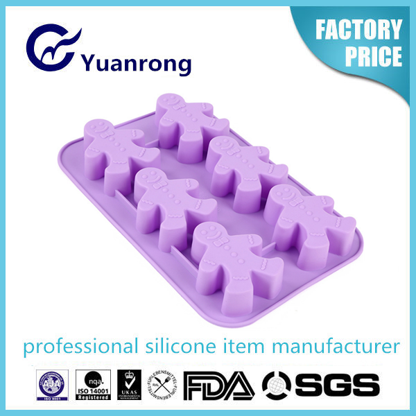 100% Silicone Ice Cube Tray Christmas Funny Shape Ice Cube