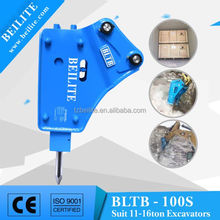 Hydraulic Breaker For Mini Excavator with Side Type